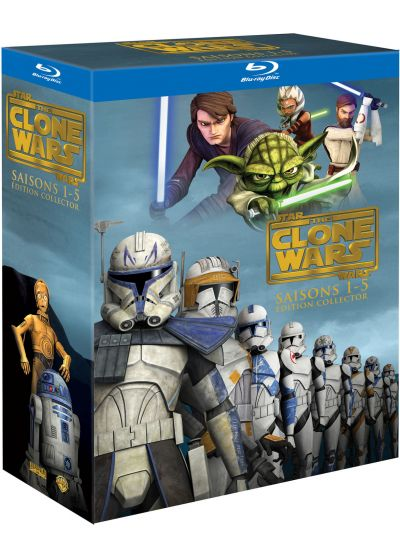 Star Wars - The Clone Wars - L'intégrale - Saisons 1 à 5 (Édition Collector) - Blu-ray