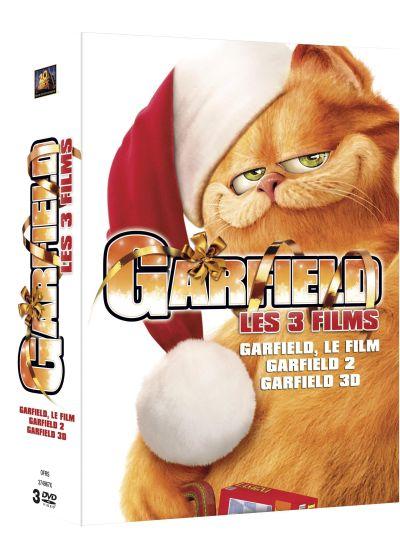 Dvdfr les 3 grands films de garfield pack dvd - Voix de garfield ...