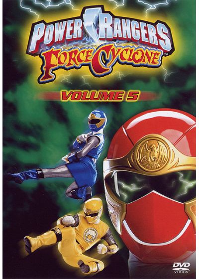 Power Rangers - Force Cyclone - Volume 5 - DVD