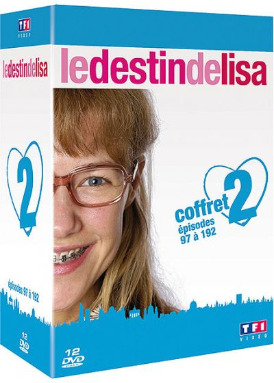 Le Destin de Lisa - Coffret 2 - Épisodes 97 à 194 - DVD