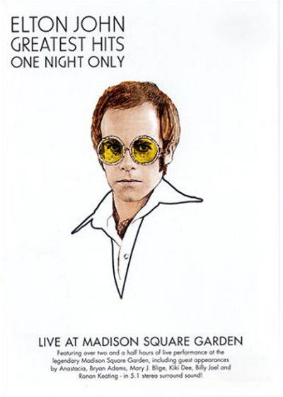John, Elton - Greatest Hits - One Night Only - DVD
