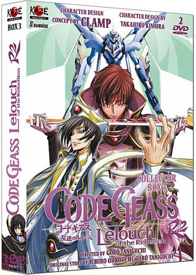 Code Geass - Lelouch of the Rebellion R2 - Box 3/3 (Édition Collector) - DVD