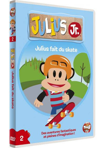 Julius Jr. - Volume 2 - Julius fait du skate - DVD