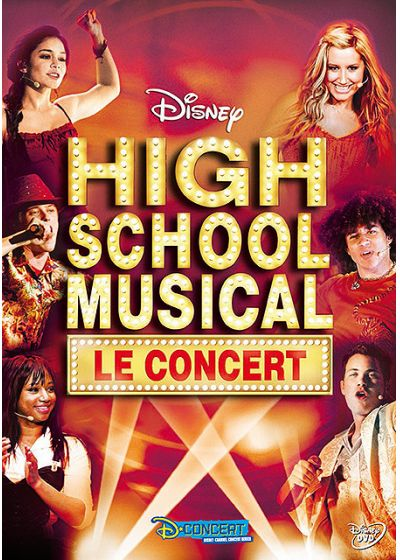 High School Musical : le concert - DVD