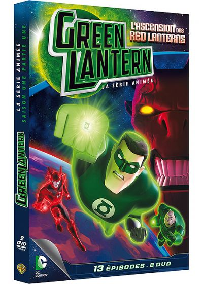 Green Lantern, la série animée - Saison 1 - Partie 1 - L'ascension des Red Lanterns - DVD