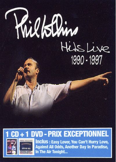 Collins, Phil - Hits Live 1990 1997 (Live and Loose in Paris + CD) (Pack) - DVD