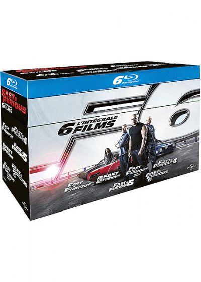 Fast and Furious - Coffret 6 films - Blu-ray