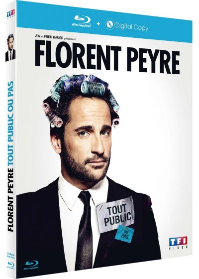 Florent Peyre - Tout public ou pas (Blu-ray + Copie digitale) - Blu-ray