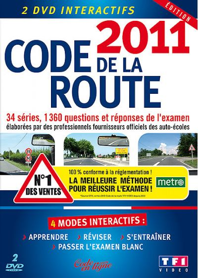 Code de la route 2011 (DVD Interactif) - DVD