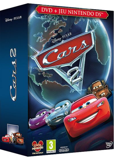 dvdfr cars 2 dvd jeu vid o nintendo ds dvd. Black Bedroom Furniture Sets. Home Design Ideas