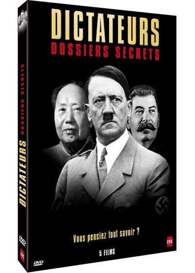 Dictateurs : Dossiers secrets - DVD