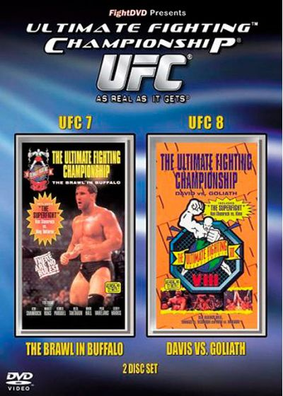 UFC 7 : The Brawl in Buffalo + UFC 8 : David vs Goliath - DVD