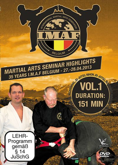 Martial Arts Seminar Highlights : 35 Years I.M.A.F. Belgium 27, 28.04.2013 - Vol. 1 - DVD