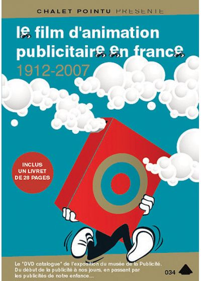 Le Film d'animation publicitaire en France 1912-2007 - DVD