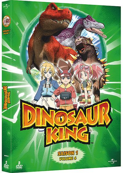 Dinosaur King - Saison 1 - Volume 4 - DVD