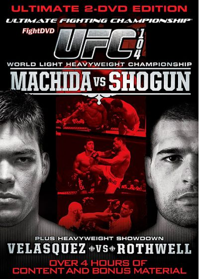 UFC 104 : Machida vs Shogun - DVD