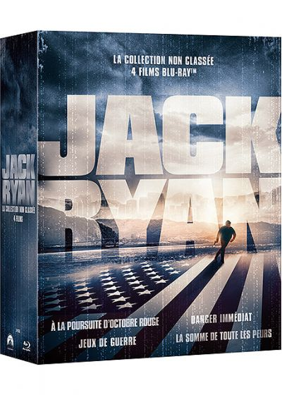 Jack Ryan - Coffret 4 films - Blu-ray