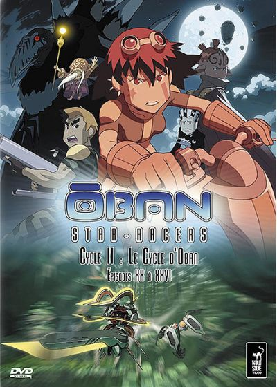 Oban Star-Racers - Cycle II : Le Cycle d'Oban - Épisodes XX à XXVI - DVD