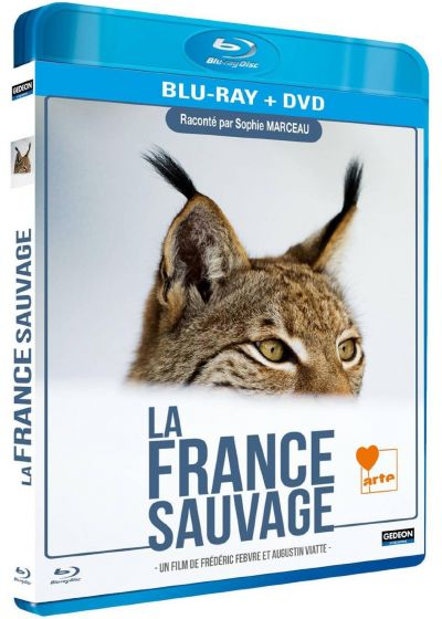 La France Sauvage (Combo Blu-ray + DVD) - Blu-ray