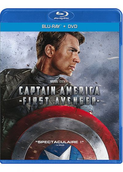 Captain America : The First Avenger (Combo Blu-ray + DVD) - Blu-ray
