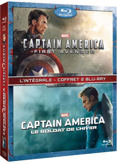 Captain America : The First Avenger + Le soldat de l'hiver - Blu-ray