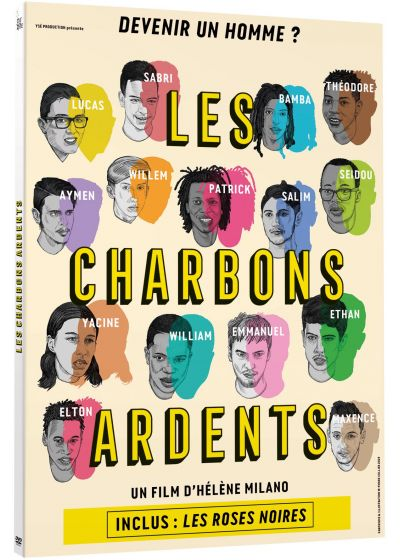 Les Charbons ardents - DVD