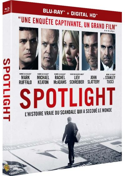 Spotlight (Blu-ray + Copie digitale) - Blu-ray