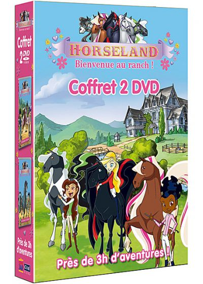 Horseland, bienvenue au ranch ! (Coffret 2 DVD) (Pack) - DVD