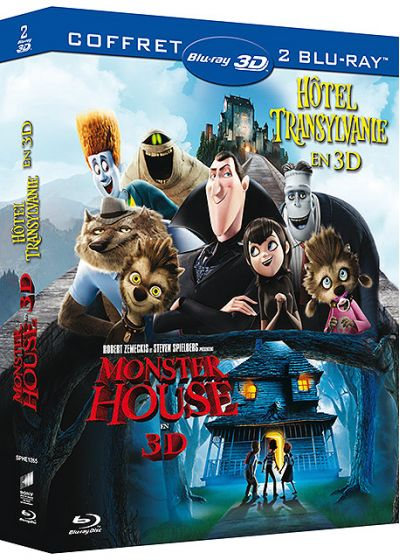 Hôtel Transylvanie + Monster House (Pack) - Blu-ray 3D