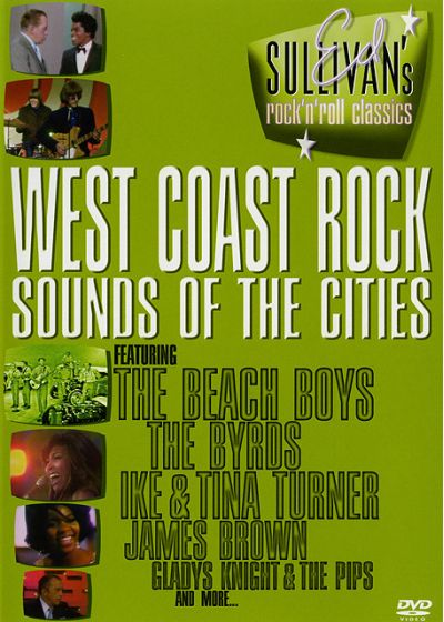 Ed Sullivan's Rock'n'Roll Classics - West Coast Rock / Sounds Of The Cities - DVD
