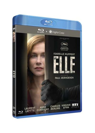 Elle (Blu-ray + Copie digitale) - Blu-ray