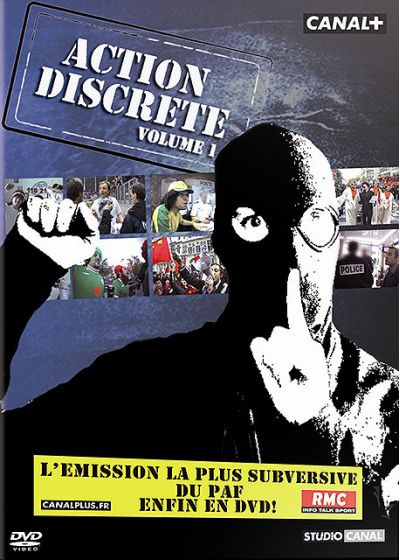 Action discrète - Volume 1 - DVD