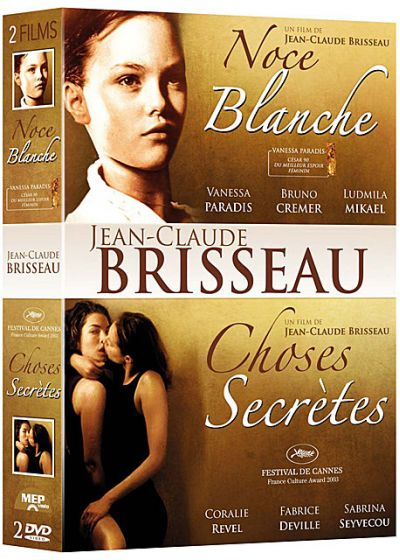 Coffret Jean-Claude Brisseau : Noce blanche + Choses secrètes (Pack) - DVD