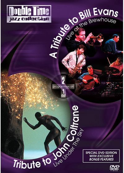 Double Time Jazz Collection - Tribute to John Coltrane / Live Under the Sky + A Tribute to Bill Evans / Live at the Brewhouse - DVD
