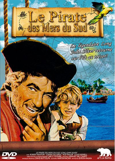 Le Pirate des Mers du Sud - DVD