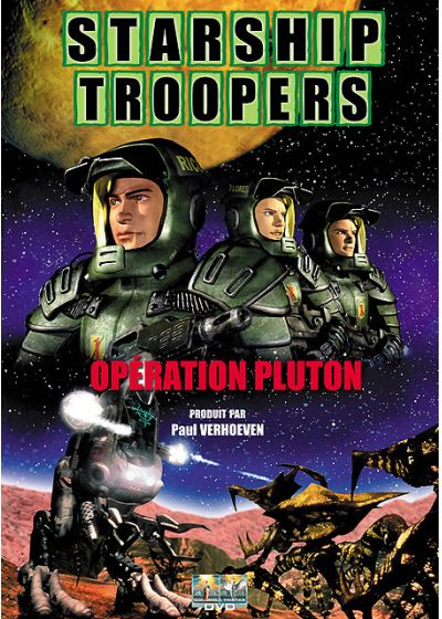 Starship Troopers : Opération Pluton - DVD