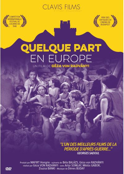 Quelque part en Europe - DVD