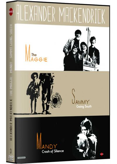Alexander Mackendrick : The Maggie + Sammy Going South + Mandy, Crash of Silence - DVD