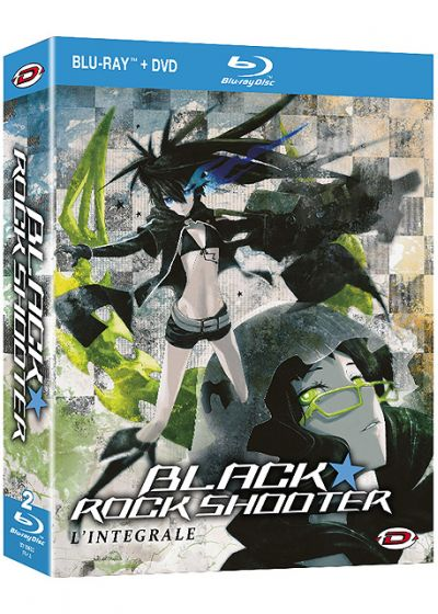 Black Rock Shooter : L'intégrale (Combo Blu-ray + DVD) - Blu-ray
