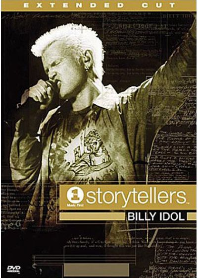 Idol, Billy - Storytellers VH-1 - DVD