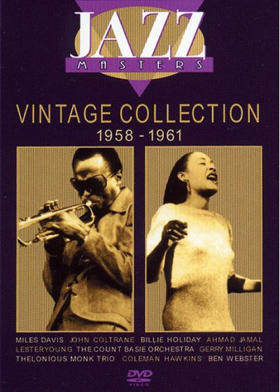 Jazz Masters - Vintage Collection 1958 - 1961 - DVD