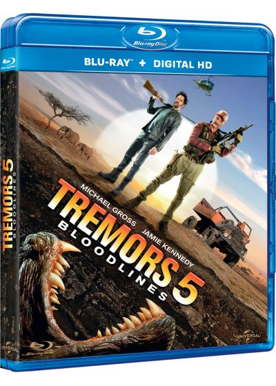 Tremors 5: Bloodlines (Blu-ray + Copie digitale) - Blu-ray