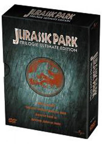 Jurassic Park Trilogie (Ultimate Edition) - DVD