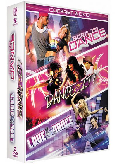 Dance - Coffret 3 films : Born to Dance + Dance for It ! + Love & Dance (Pack) - DVD