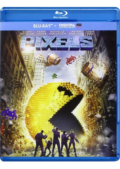 Pixels (Blu-ray + Copie digitale) - Blu-ray