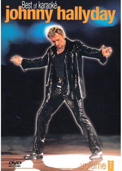 Johnny Hallyday - Best of karaoké - Volume 1 - DVD