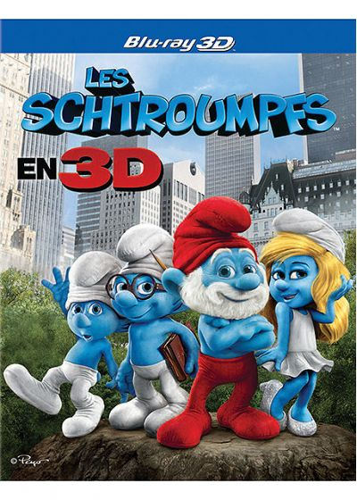 Les Schtroumpfs (Blu-ray 3D) - Blu-ray 3D