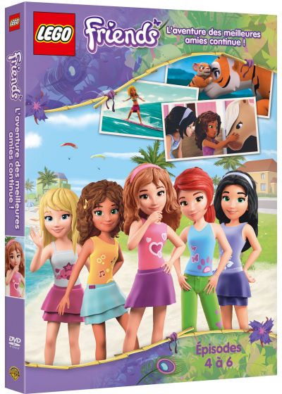 LEGO Friends - Les folles aventures continuent - DVD