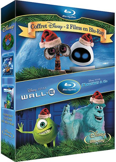 WALL-E + Monstres & Cie (Pack) - Blu-ray