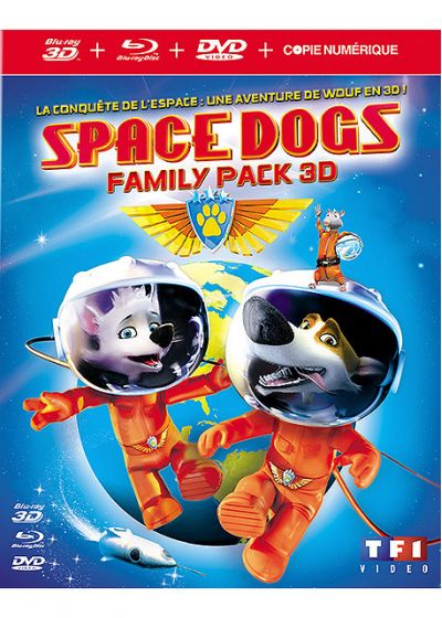 Space Dogs (Combo Blu-ray 3D + Blu-ray + DVD + Copie digitale) - Blu-ray 3D